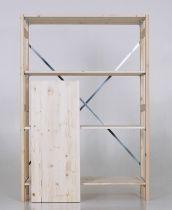 houten legbord met een diepte van 400mm