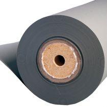 grijsblauw omslagpapier en archiefpapier op rol