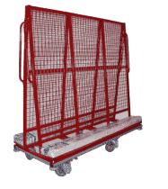 Schilderijwagen - 2500 (l) x 850 (b) x1800 (h) mm